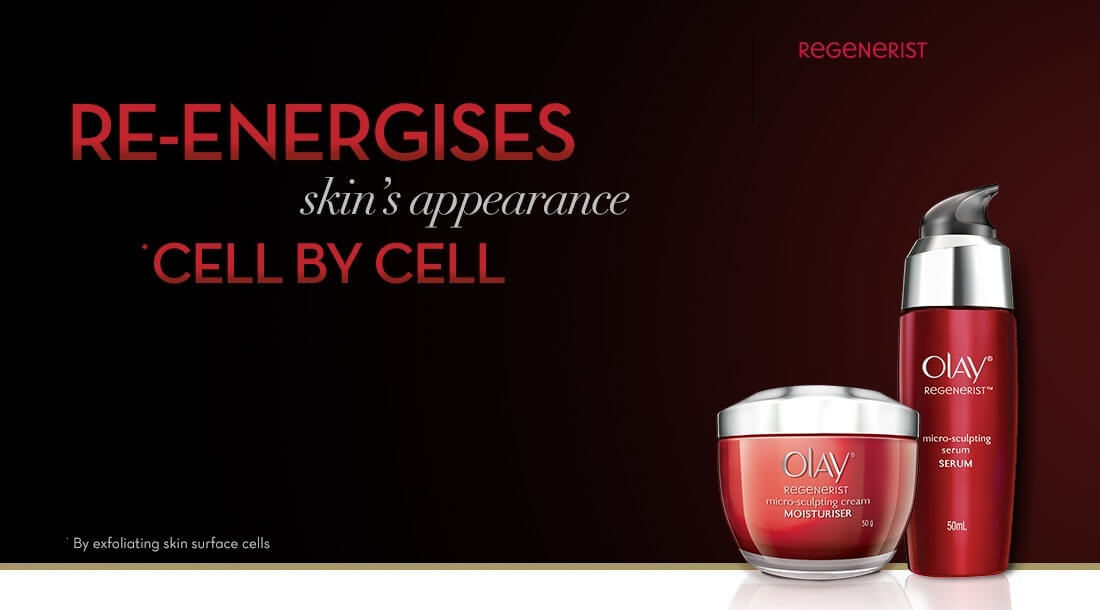 Olay Regenerist Range for Younger looking Skin
